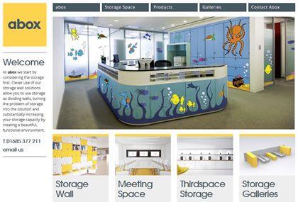 Abox Storage Solutions Website Development